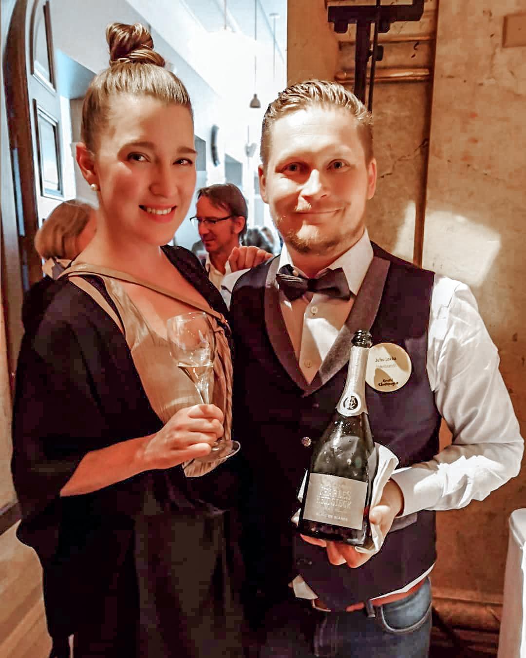 Helsingin parhaat viinitapahtumat Grand Champagne Helsinki Charles Heidsieck